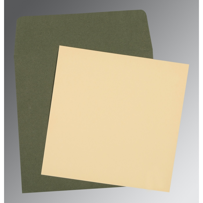Ivory Matte Wedding Card : AP-0004 - A2zWeddingCards