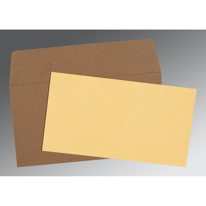 Ivory Matte Wedding Card : AP-0021