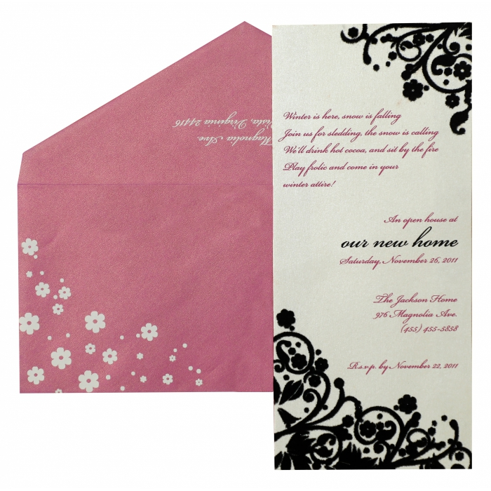 Paisley Themed - Wedding Invitation : APY-879