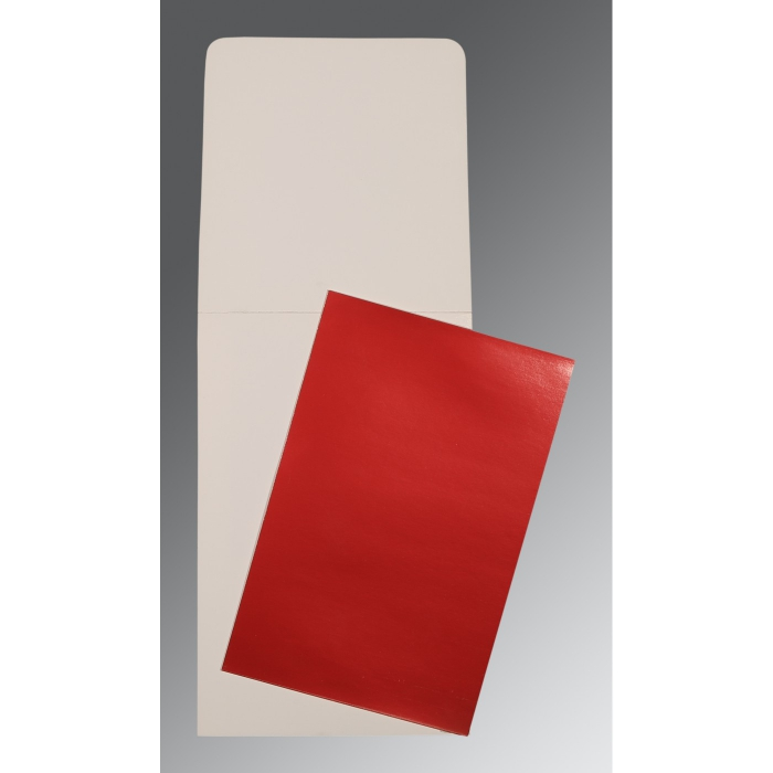 Red Glossy Wedding Card : AP-0007 - A2zWeddingCards