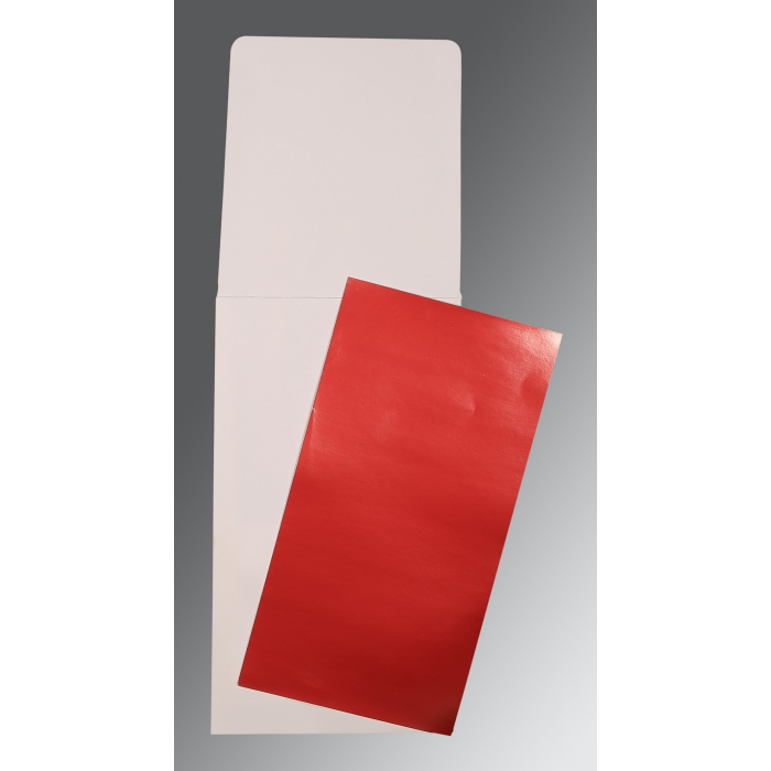 Red Glossy Wedding Card : AP-0010 - A2zWeddingCards