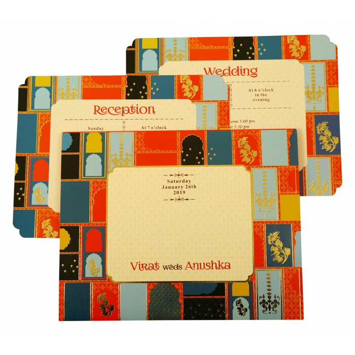 Wedding Invitation : AD-1880 - A2zWeddingCards