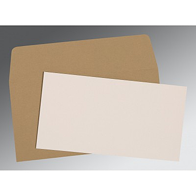 Ivory Matte Wedding Invitations : AP-0024 - A2zWeddingCards