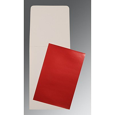 Red Glossy Wedding Card : AP-0007