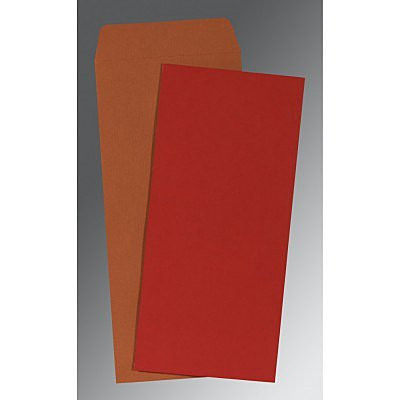 Red Matte Wedding Invitation : AP-0035