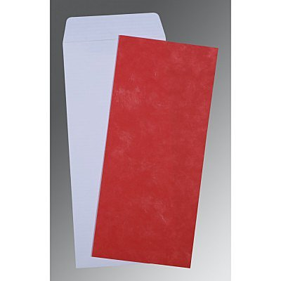 Red Matte Wedding Invitation : AP-0039